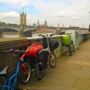 Paris Londres en vélo en famille