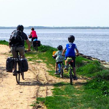 Le tour du bassin d'Arcachon à vélo avec les enfants