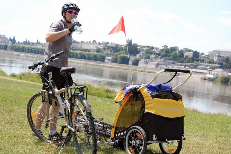 remorque vélo enfant Burley Solo