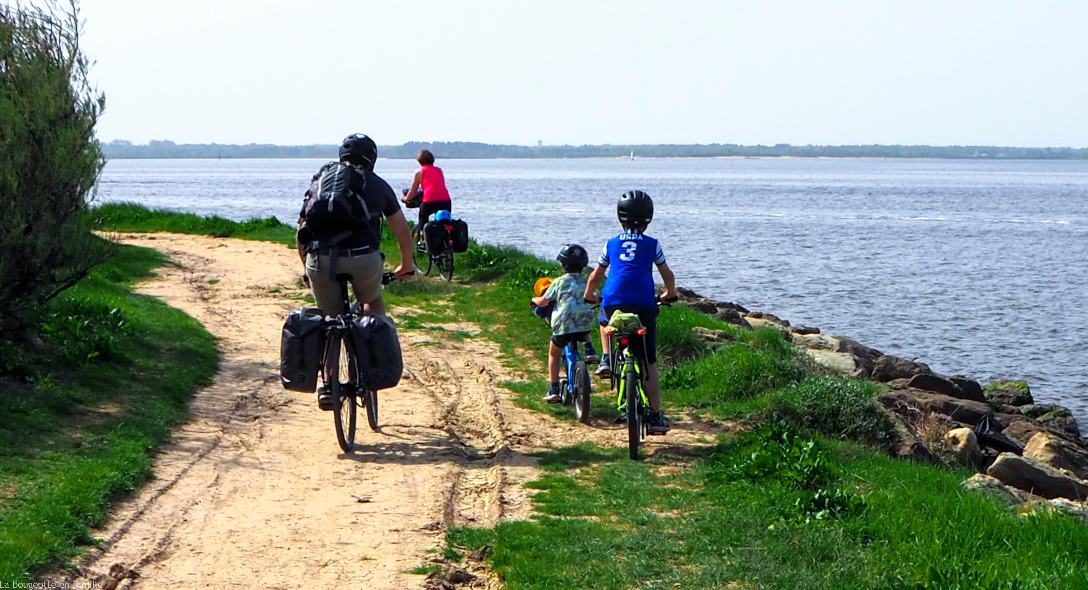 Le Tour Du Bassin D Arcachon A Velo Avec Les Enfants La