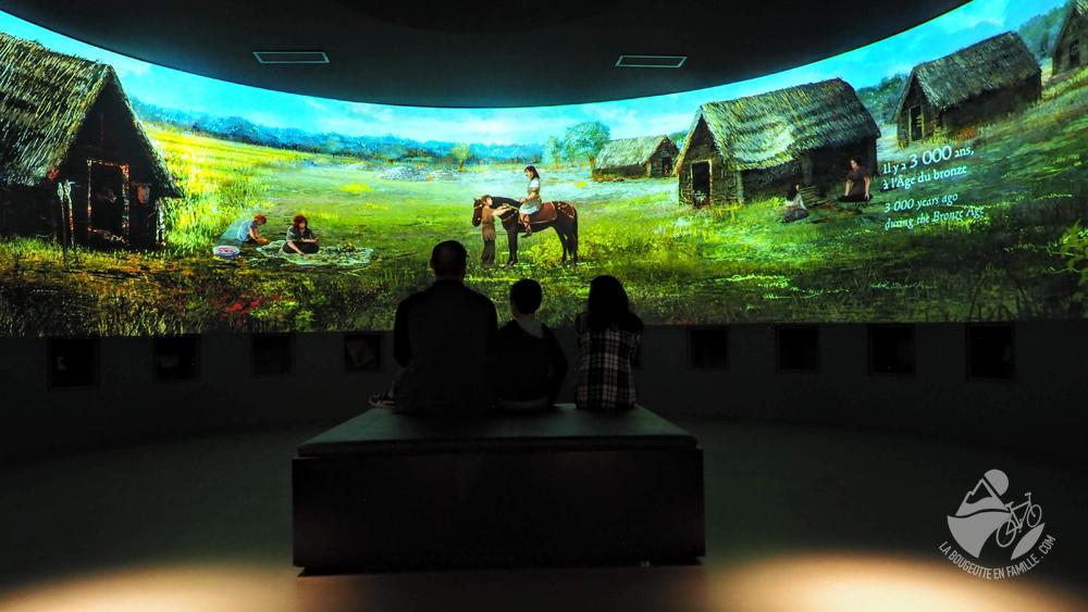musée de lodeve écran interactif video enfant famille