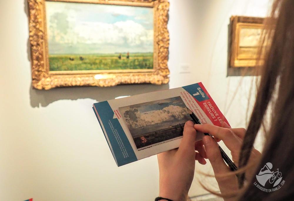 livret jeux main enfant tableau peinture musée de lodeve