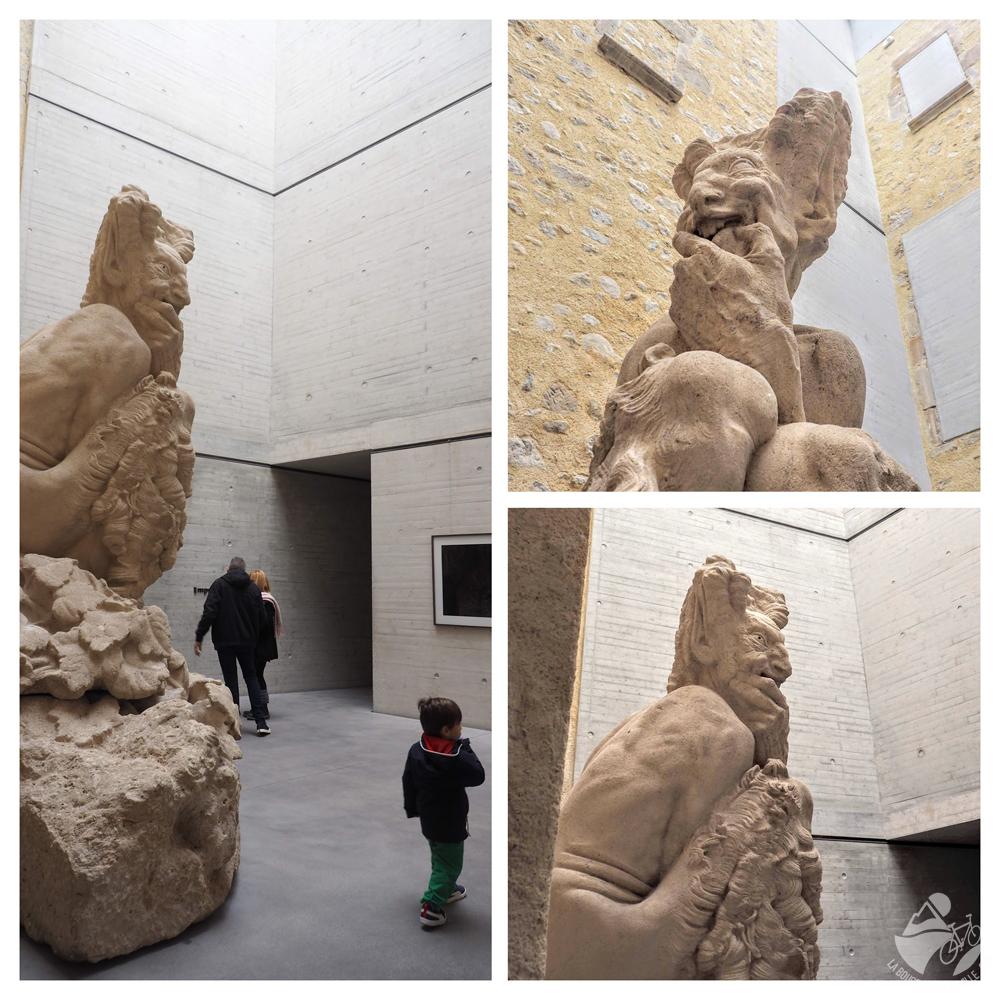 sculpture musée lodeve dardé enfant famille