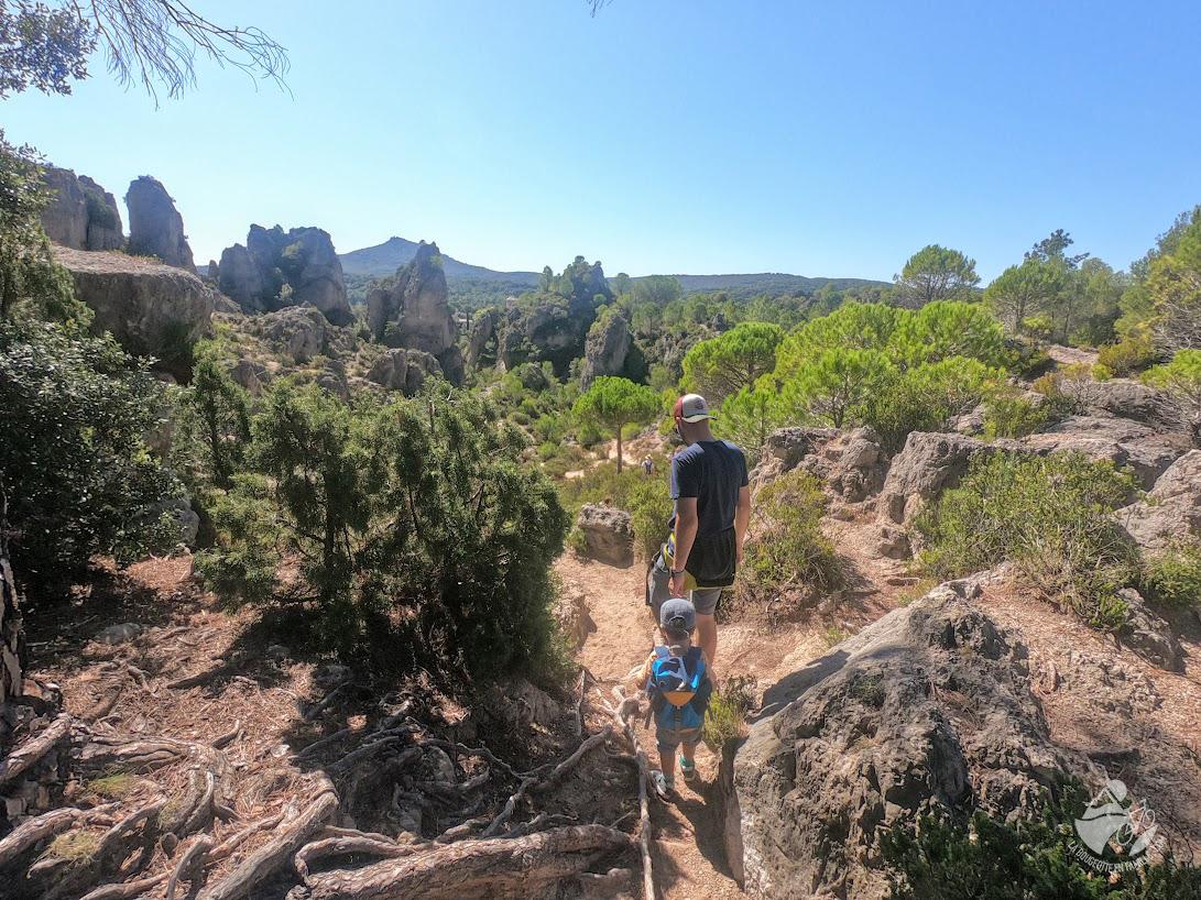 voyage, occitanie, cirque moureze, randonnée, enfant, famille