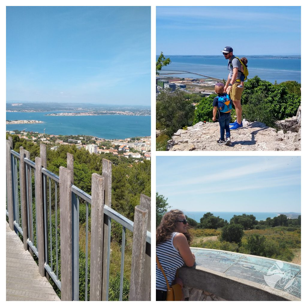 sete, panorama, mont st clair, pierres blanches