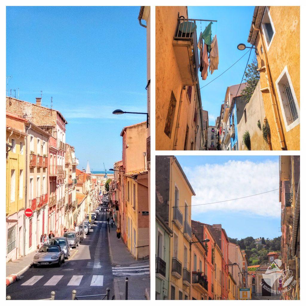 rues, sete, petit naples, little italy, venise languedocienne
