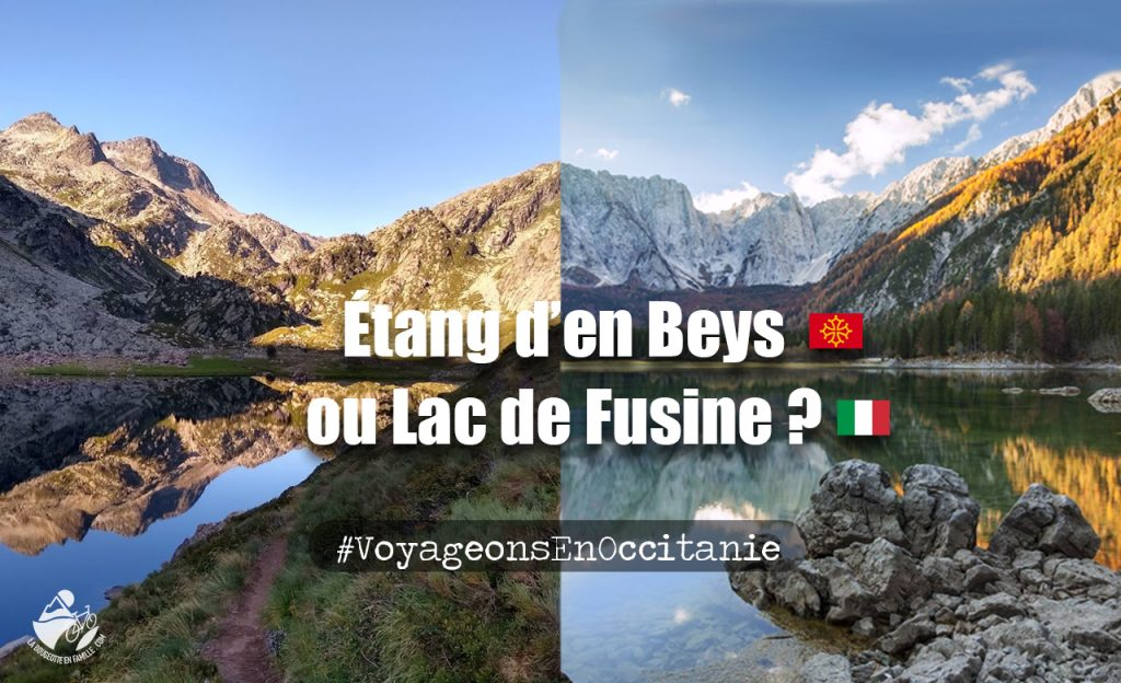 voyage, occitanie, lac, italie, étang, montagne, ariege, pyrénées