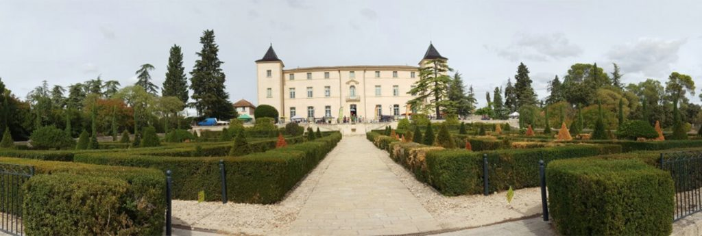 chateau domaine montpellier balade