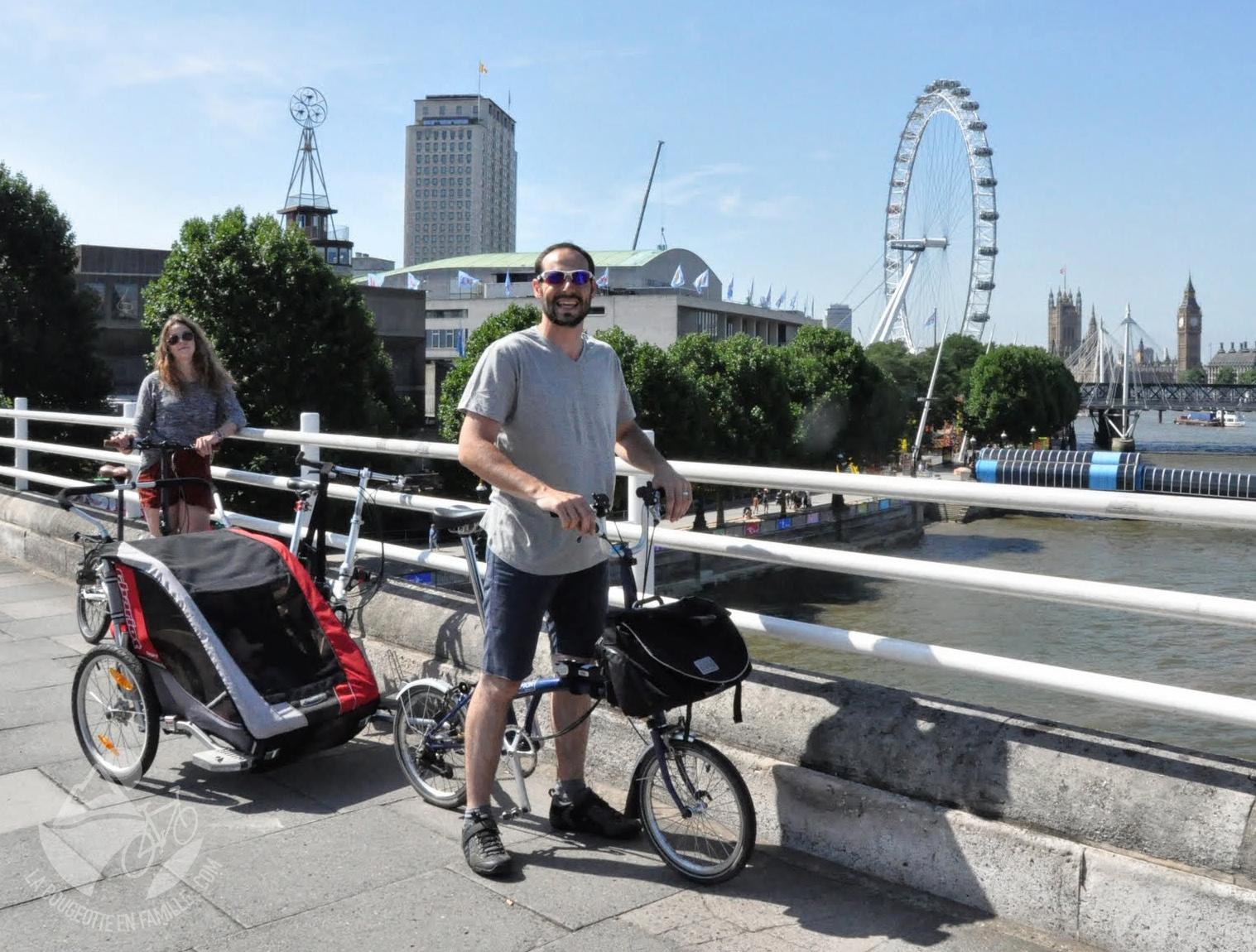 remorque vélo ville londres