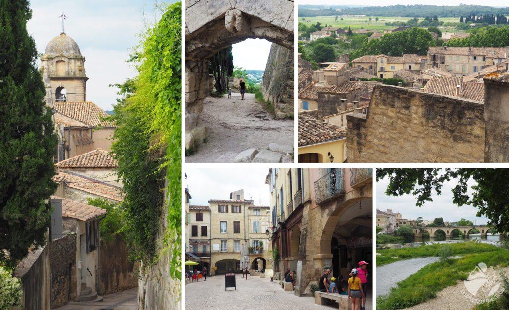 sommieres, village médiéval, chateau, pont, balade, famille, montpellier
