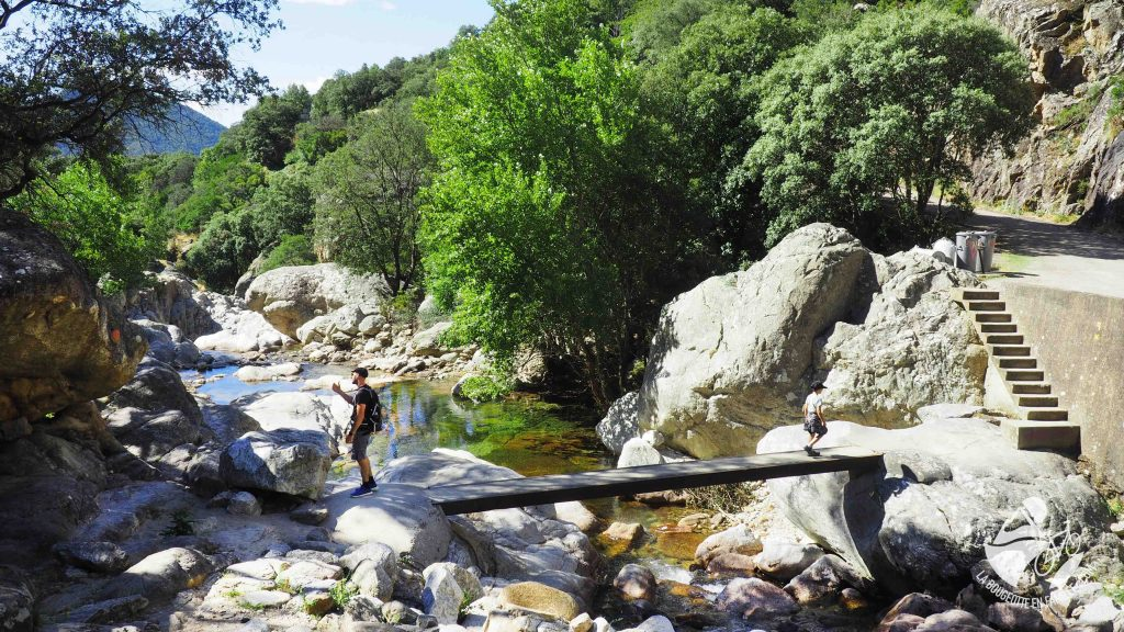 gorges d'heric, famille, baignade