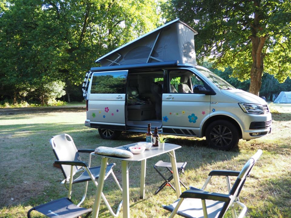 van T6 VW camping