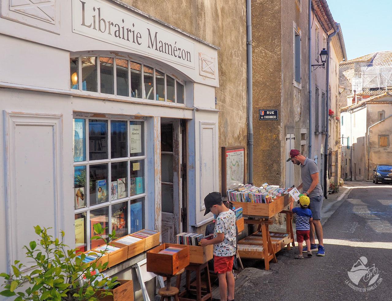 village livre librairie montolieu