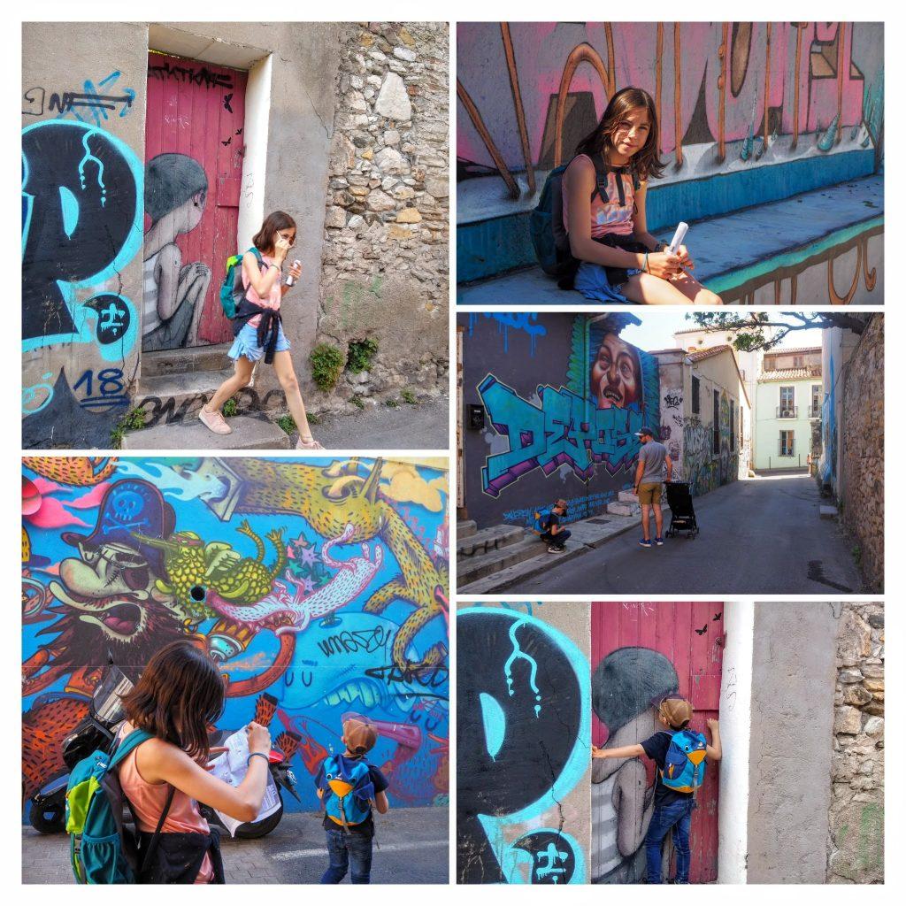 street art, enfant, sete